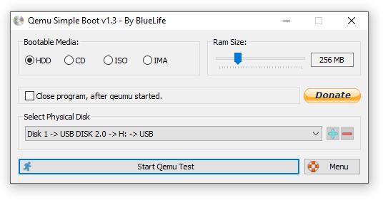Проверка загрузочной флешки и диска без перезагрузки компьютера